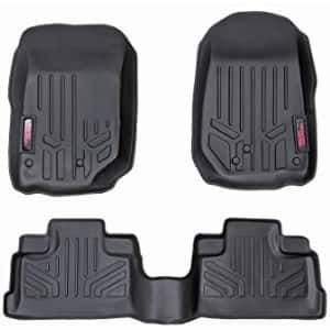 Rough Country Floor Liners Fits 2018 2020 Jeep Wrangler Jl 4dr 1st 2nd Row Rugged Floor Mats M 60112 With Images Where To Buy Carpet Jeep New Jeep Wrangler