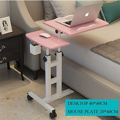 Foldable Computer Table 64 40cm Adjustable Portable Laptop Desk Rotate Laptop Bed Table Can Be Lifted In 2020 Laptop Table For Bed Portable Laptop Desk Computer Table