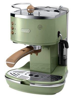 ECOV310.GR Icona Vintage Coffee Maker - Green