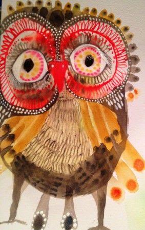 owl by Jessica Breakwell