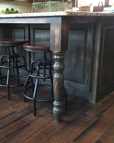 Kitchen Island Table Legs Home Design Ideas