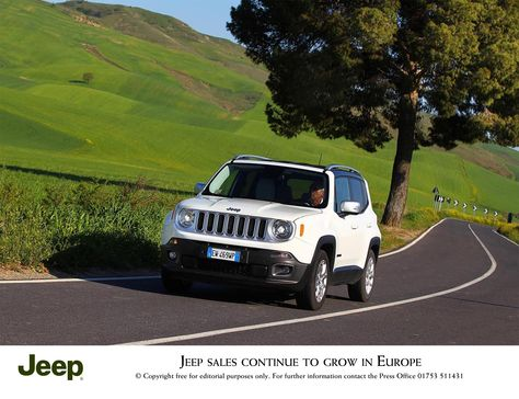 Jeep Sales Continue To Grow In Europe With Images Jeep