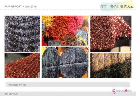 Autumn Winter 2017-18 trend report of Pitti Immagine Filati