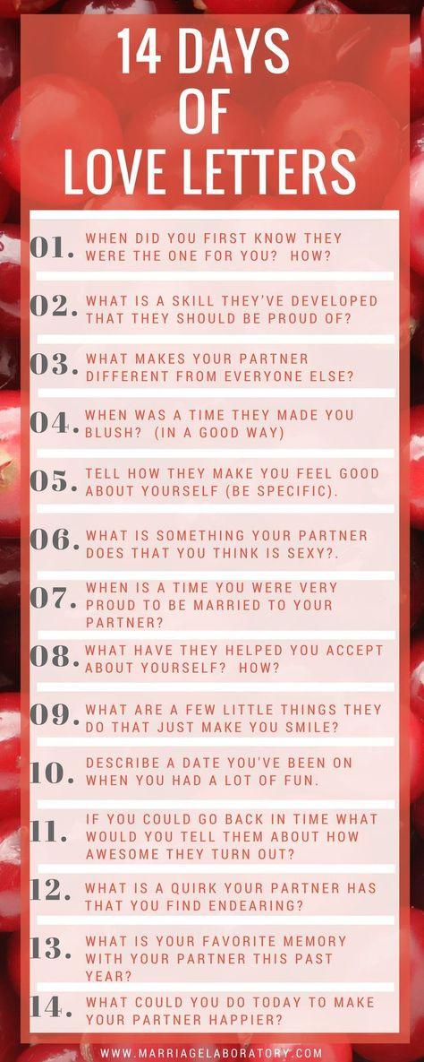 14 Tage Liebesbriefe - #Liebesbriefe #Tage #wellen