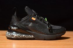 Off white x Nike Air Max 270 Flyknit Cushion Black ID6238