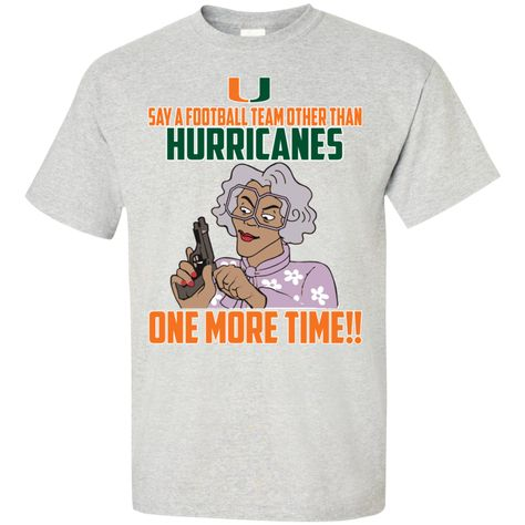 NCAA Miami Hurricanes T-Shirt V5