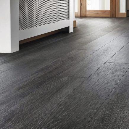 Quickstep Livyn Silk Oak Dark Grey Vinyl Flooring Quickstep Livyn Vinyl Flooring Floor Grey Vinyl Plank Flooring Grey Vinyl Flooring Vinyl Flooring Kitchen