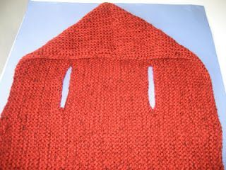 How to knit a vest with a hoodie. Can knit sleeves and make it a cardigan:)