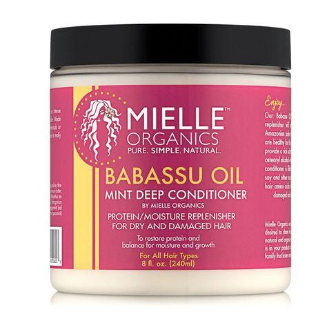 Mielle Babassu & Mint Deep Conditioner