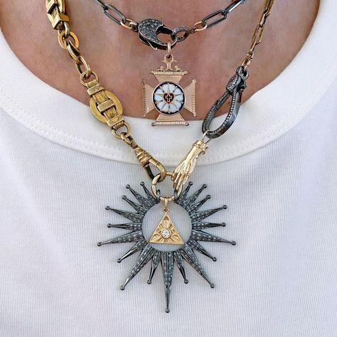 "Happy Family Charm Women Men Pendant Necklace Adjustable 17/"" Details about  /14K Yellow Gold"