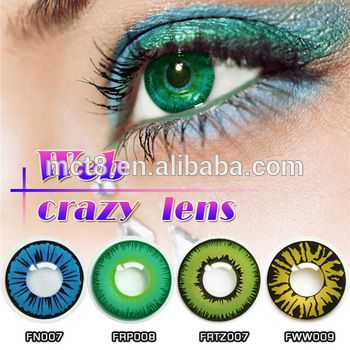fc3bb193b79 1 Pair Angel Color Cosmetic Contact Lenses Eye Contact Lenses ...