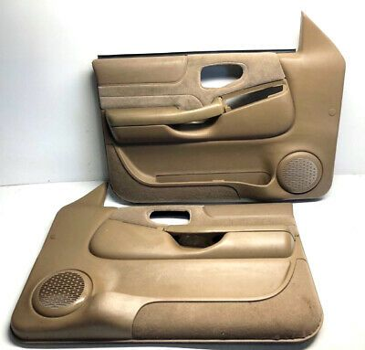 Ad Ebay 98 05 S10 Sonoma Jimmy Blazer Bravada Power Front Door Panel Pair Tan Beige In 2020 Panel Doors Beige Doors