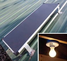 Solar DC lighting system