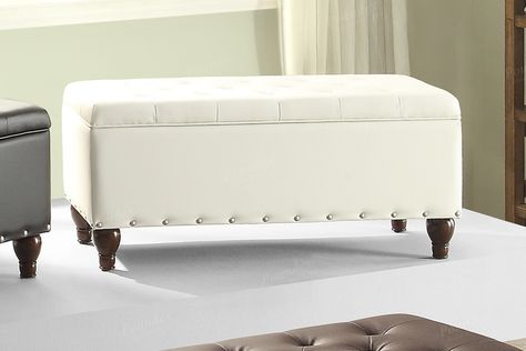 Fabulous Poundex Ottoman W Storage F6804 Products Pinterest Short Links Chair Design For Home Short Linksinfo
