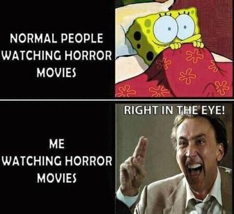Pin by Kendra n on Funny | Horror movies funny, Funny horror, Horror movies memes