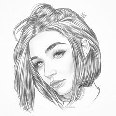 Quick Shorthair Sketch La Sonrisa Mp3 Makeup Doodle Illustration Hairstyle Shorthair Model Fashi Art Sketches Art Drawings Sketches Pencil Art Drawings
