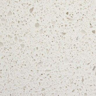 Quartz Ikea Kitchen Countertop Sample In White Nougat With White
