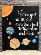 Ich liebe dich so viel mehr als nur zum Mond und zurück zum Malen danach: Carlos caro ... #ca... - #carlos #danach #liebe #malen #ZURÜCK - #New