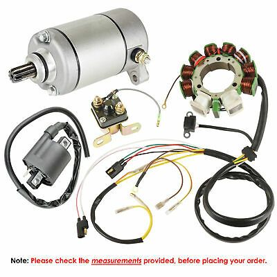 Stator Starter Solenoid Ignition Coil Fits On Wont Fit Sportsman 500 Ho 2000 Sportsman 500 1998 2000 Up To S 00 2 Ignition Coil Polaris Atv Sportsman