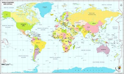 World Map Equator Prime Meridian New Map The World With ...