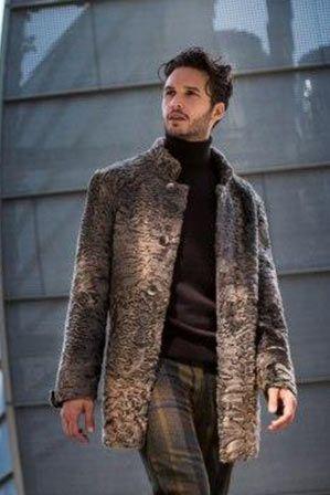 giacca astrakan uomo