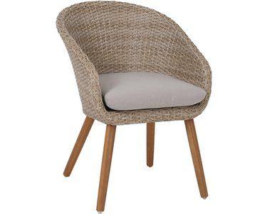 Greemotion Design Gartenstuhl Louisville Polyrattan Beige Kaufen Bei Obi Outdoor Chairs Wicker Chair Chair