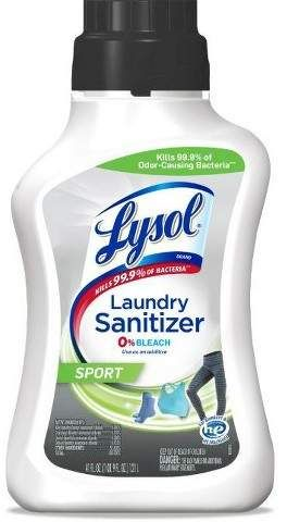 Lysol Laundry Sanitizer Sport 0 Bleach 41oz Lysol Sanitizer