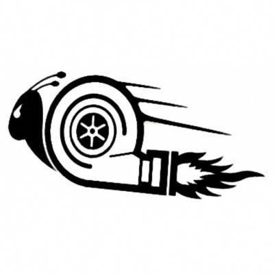 Cool Turbo Snail Car Sticker 1 81 Vwpologtiaccessories Carros