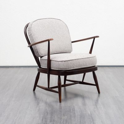 Windsor Armchair By Lucian Ercolani For Ercol 1950s For Sale At Pamono Ercol Armchair Ercol Ercol Chair