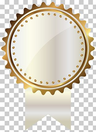 Gold White And Gold Seal With Ribbon Gold Medal Illustration Png Clipart Gold Clipart Clip Art Free Clip Art