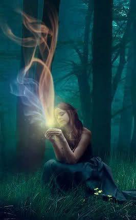 Cristais With Images Witch Art Mystical Art Spiritual Art