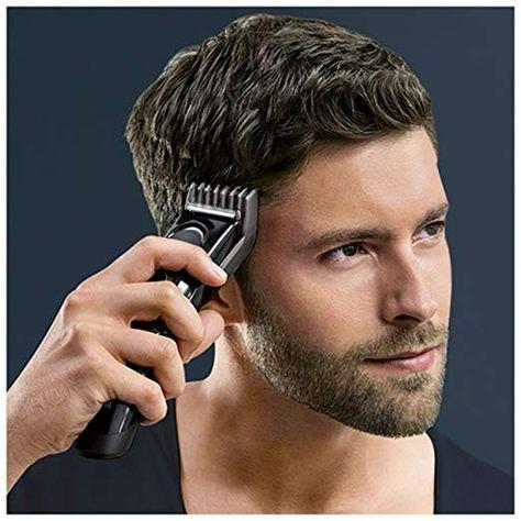 einsetzbar als Trimmer schwarz Braun Haarschneider HC5050 17 Längen