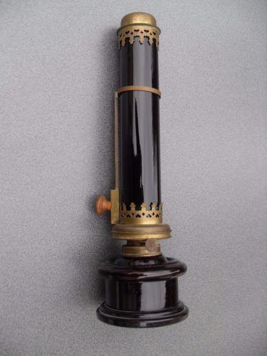 Elegant Details about Antike Dunkelkammerlampe Petroleumlampe C F Kindermann Berlin