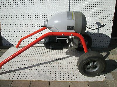 Details About Ridgid 115 Volt K 1500sp Sectional Sewer And Drain Cleaning Machine In 2020 Sewer Drain Cleaning Drain Cleaner Cleaning Tools