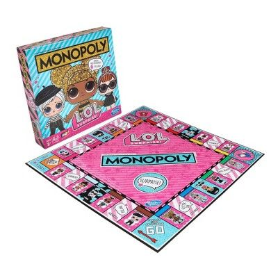 Monopoly Game L O L Surprise Monopoly Game Monopoly Board Games For Kids