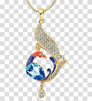Silver Aqua Blue and Lilac Luminous Elements Pendant Necklace
