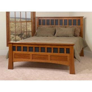 Mission Style Bed Frame Headboard Styles Craftsman Furniture