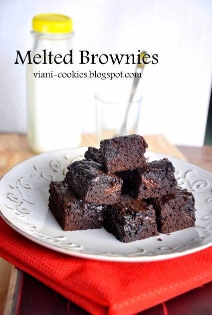 Brownies Kue Yang Paling Sering Aku Buat Kaya Nya Cara Bikin Nya Simple Dan Cepat Banget Selain Itu Resep Makanan Penutup Hidangan Penutup Memanggang Kue