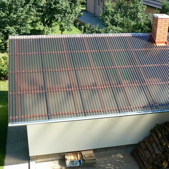 Vistalux Pvc Roofing Sheet In 2020 Corrugated Roofing Polycarbonate Roof Panels Roofing Sheets