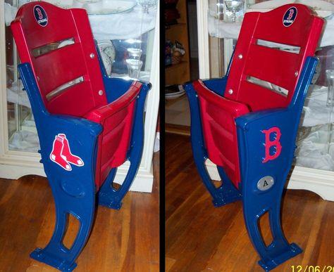 Boston Red Sox Stadium Chairs Josh Will Love The Fenway Feel