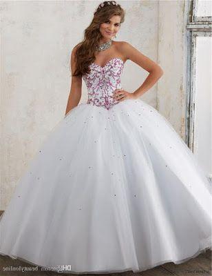 Vestidos De Xv Blancos Vestidos Vestidos De Moda Y