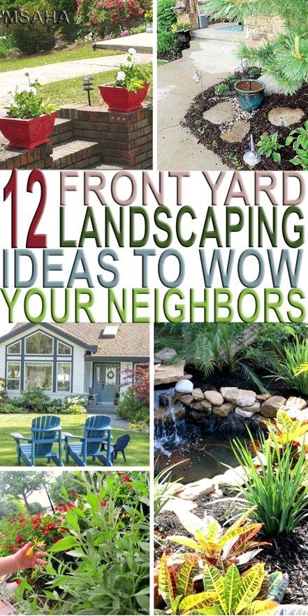 10 Simply Beautiful Front Yard Landscaping Ideas To Wow Your Neighbors Front Yard Landscaping Front Yard Patio Front Yard Garden