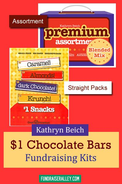 Kathryn Beich 1 Candy Bar Fundraising Kits Include The Premium Assortment Or Straight Packs Candyfundraiser Fundraiseralley Candy Fundraiser Candy Bar