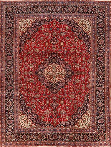 Vintage Floral Red Area Rug Wool Oriental Traditional Hand Knotted Carpet 9x12 9 5 X 12 5 In 2020 Wool Area Rugs Red Area Rug Area Rugs