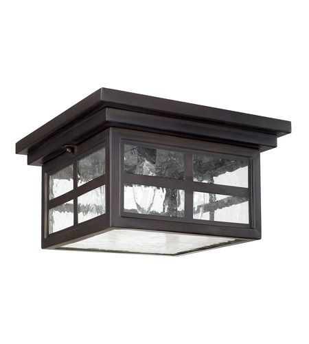 Capital Lighting 9917ob Preston 3 Light 11 Inch Old Bronze Outdoor Flush Mount Outdoor Ceiling Lights Capital Lighting Capital Lighting Fixture