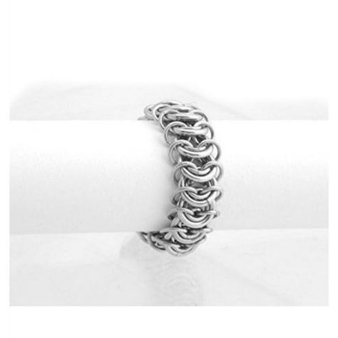 Steel Ring | 11th Anniversary Gifts For Couples, Husband, Wife, Him, Her