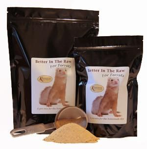 Better In The Raw For Ferrets Food Nutrition Recipes Nutrition