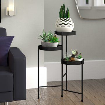 Maxon Metal Multi Tiered Plant Stand Plant Stand Indoor Plant