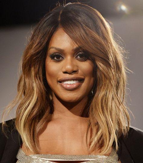 Light Brown Hair: Laverne Cox