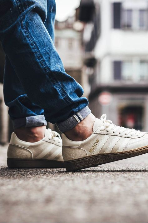 ADIDAS Spezial Clear White | Adidas spezial, Sneakers